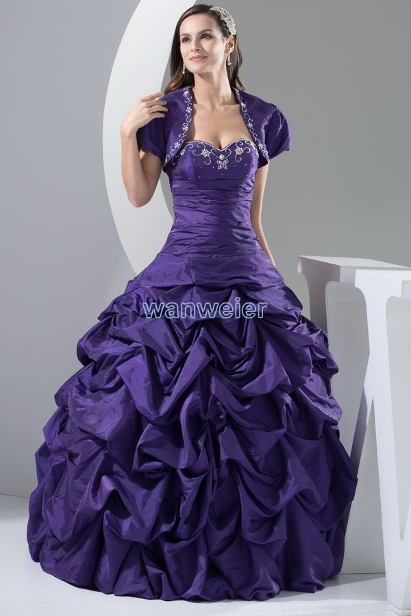 Free Shipping Evening Prom Gowns 2018 Bridal Gown Sweetheart Plus Size Embroidery Mother Of The Bride Dresses With Jacket