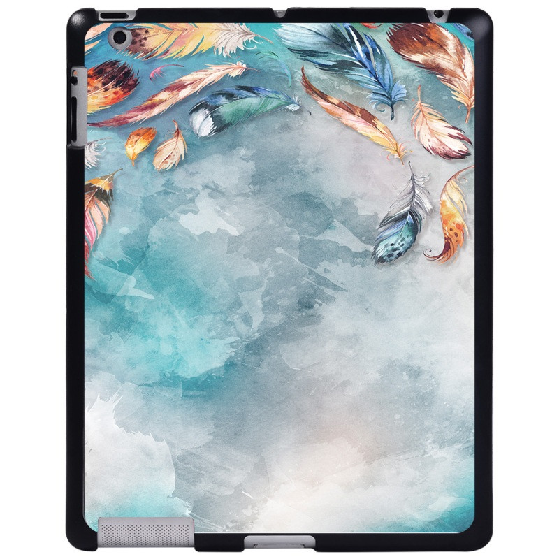 rainbow feather Coffee For Apple iPad 8 10 2 2020 8th 8 Generation A2428 A2429 tablet PC Plastic Printed