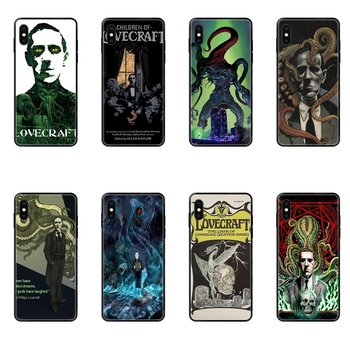 Lovecraft Film Festival Black Soft TPU Cell Phone Case Unexpensive For Galaxy A10S A20 A20S A20E A21S A30S A40 A50 A70 A71 A70E image