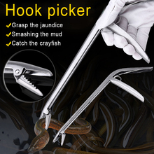 Зажим для рыбы из нержавеющей стали с зажимом, устройство для удаления ловли, рыболовные снасти для управления, плоскогубцы M88