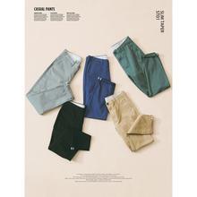 SIMWOOD 2020 automne hiver nouveau pantalons décontractés hommes coton coupe ajustée Chinos mode pantalon mâle marque vêtements grande taille pantalon