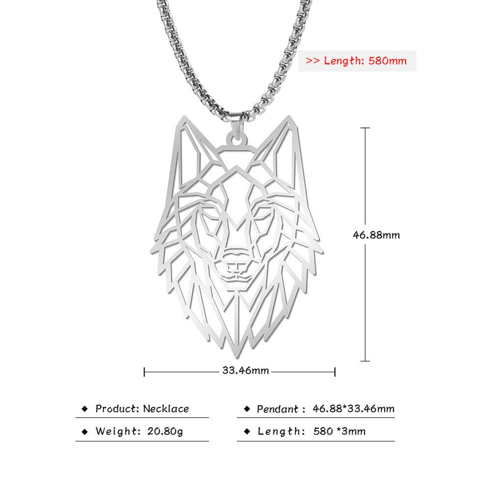Beautiful Wolf Necklace