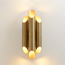 Nordic Led Wall Lamp Postmodern Gold Iron Wall Lamps For Liv