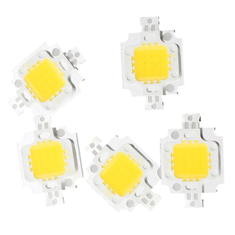 Big Deal 5 PCS IC LED Bulb Warm White 10W 3200K 800LM 9 - 12V