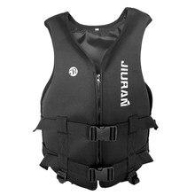 Veste de sauvetage en néoprène pour enfant et adulte, vêtement d'extérieur, rafting, natation, apnée, pêche, kayak, combinaison de bateau