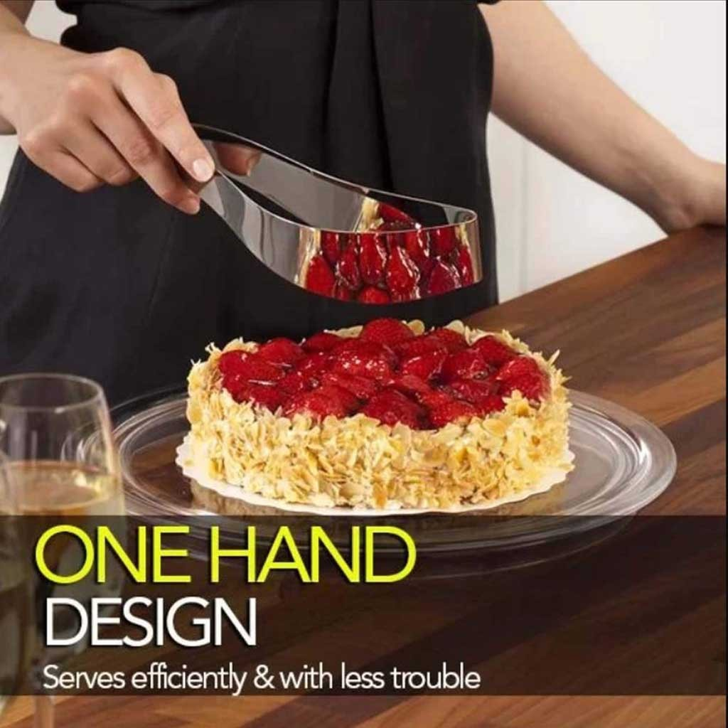 Perfect Cake Slicer and Server