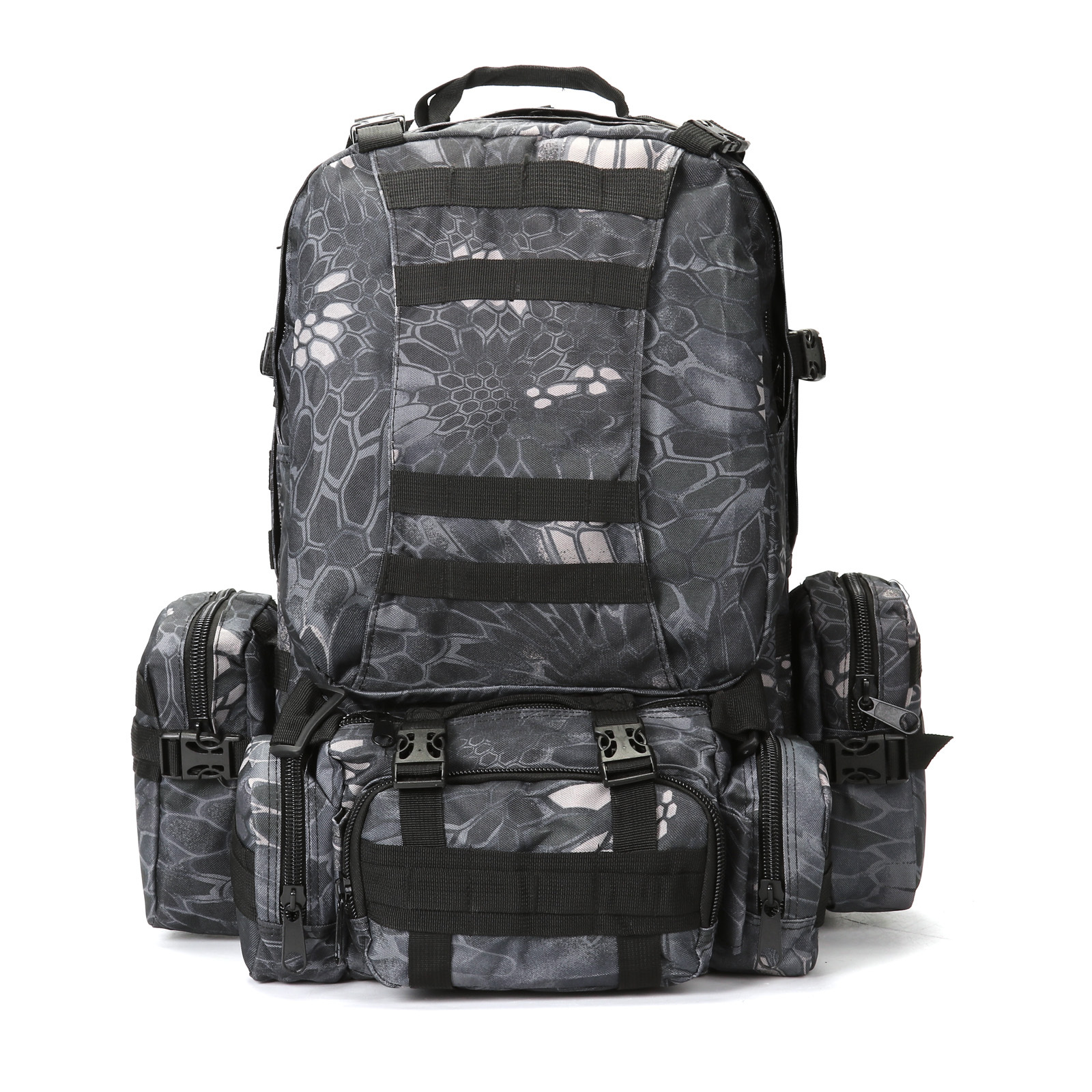 Outdoor Multi-functional Combination Backpack Men And Women Army Fans Tactical Backpack Outdoor Sports Hiking Mountaineering Bag