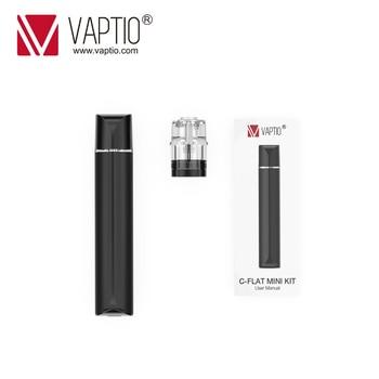 Vaptio C – Mini Kit de démarrage plat original 9W, Cigarette électronique, KIT de stylo vapoteur 260mAh, vaporisateur 1.3ML avec système de dosettes d'atomiseur ohm