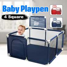 Baby Playpen Portable Plastic Fencing For Children Folding Safety Fenc