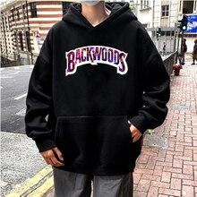 Pullover Hoodie Backwoods Sweatshirts Harajuku Printed Color Male Fashion Women Casual
