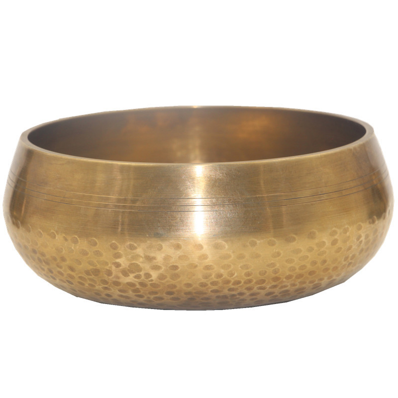Nepal Genuine Handmade Pure Copper Buddha Singing  Bowls Yoga Supplies Bronze  Sound Therapy Meditation Bowl
