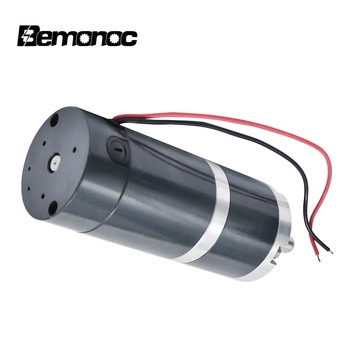 Bemonoc 50RHH High Torque Reversible PMDC Motor 12V 24V 4-200 RPM Planet Reducer Motor Metal Planetary Geared Box Out Shaft 12mm