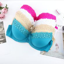 Underwear Floral-Bras 34B Push-Up Small Female Girls 34C 40B 40A 38B 42A 42C 42B 40C