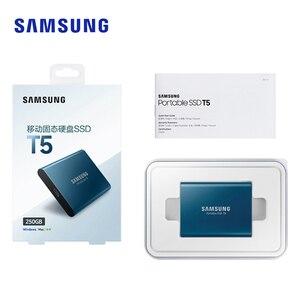 Image 5 - SAMSUNG Esterno Portatile SSD T5 USB3.1 250GB 500GB 1TB Hard Disk Esterno Unità A Stato Solido HDD per desktop Del Computer Portatile