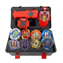 Tops lanceurs Beyblade Burst, ensemble de jouets avec démarreur et arène, en métal, 8765541