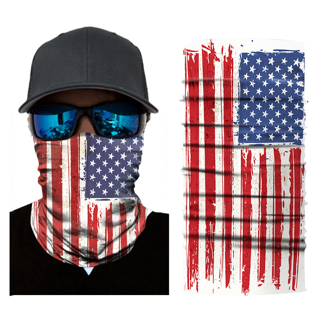 Mask dust-proof flag digital print