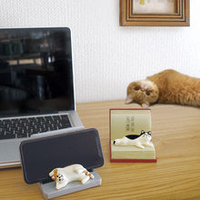 Soporte de teléfono para gatos, montura de gafas, regalo, adornos pequeños, Japón, comestibles, 2020