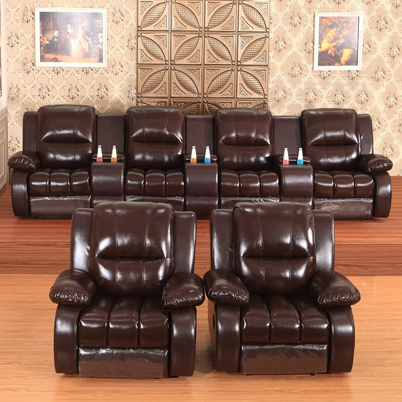 First-class Space Electric Cabin Private Home Cinema Electric Movie Room Multifunctional Sofa Combination Three