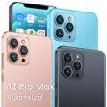 I12 pro max real 1GB + 8GB смартфон 6,7 дюймовый U-Экран 3000mAh Большая батарея. Разблокированный мобильный телефон