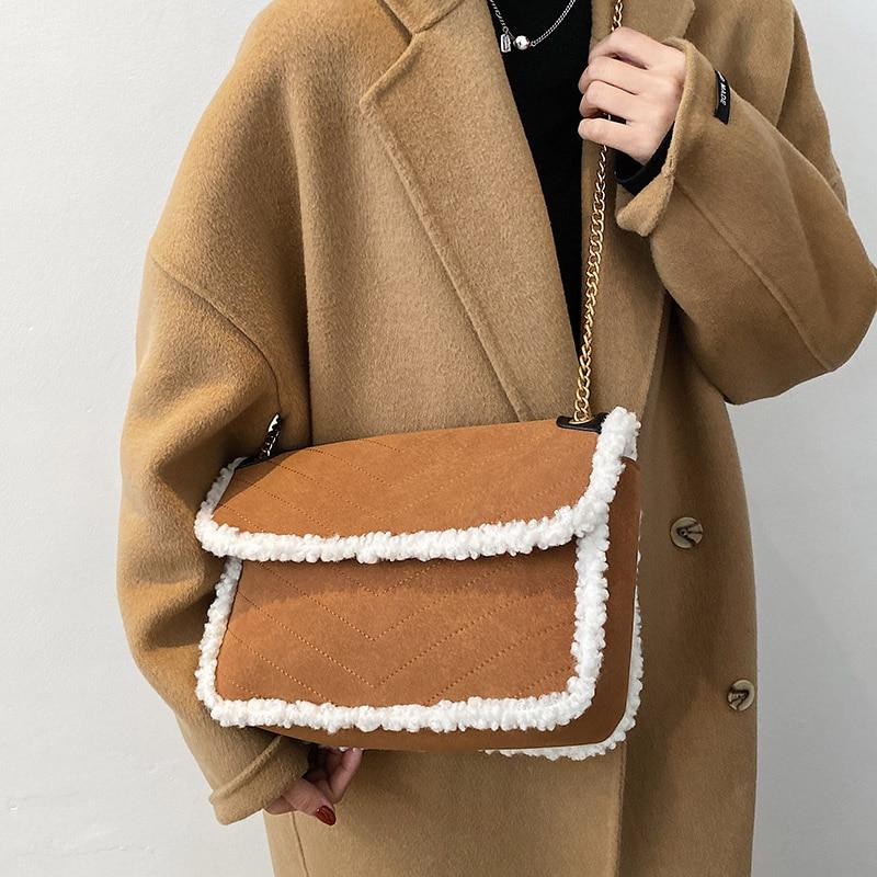 VeryMe Leather Crossbody Bags For Women 2020 Winter Large Capacity Shoulder Bag Lady Luxury Square Handbags сумки женские 2020