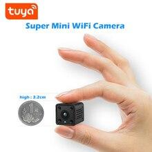 Tuya mini Wifi Camera 1080P Smart Home Security Baby Monitor 140 Degree Wide Angle Wireless Mini IP Built-in Battery best