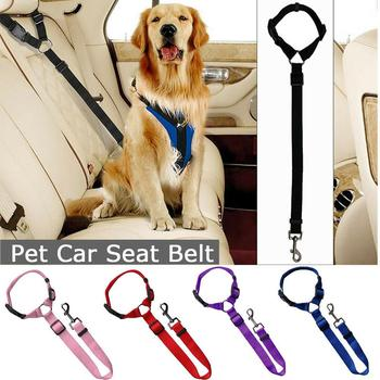 Adjustable Pet Dog Car Seat Belt Puppy Safety Vehicle Seatbelt   1
