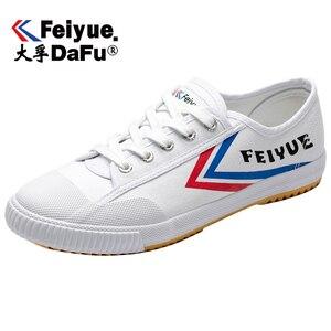 Image 2 - DafuFeiyue 331 שאולין קונג פו בד נעלי מקורי גברים נשים נעלי גופר נעלי ספורט מזדמנים לנשימה מגמת החלקה נעליים