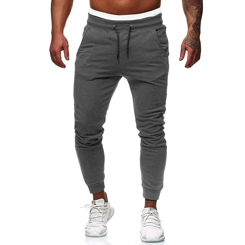 Men Long Sport Pants Gym Slim Fit Trousers Running Joggers Gym Sweatpants Casual Sports Jogging Bottoms Joggers Gym Trousers