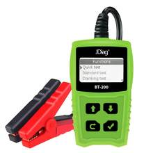 JDiag BT200 Car Battery Life Tester Detector Voltage Analyzer Diagnostic Tool Free Update Automotive Scanner Car Accessories(China)