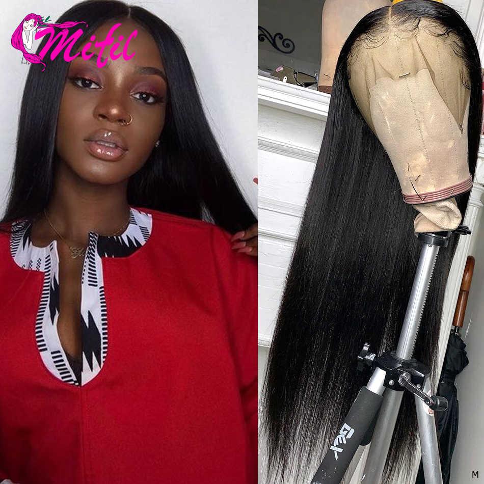 Mifil 360 Kant Frontale Sluiting Indian Steil Haar 360 Frontale Sluiting Met Baby Haar Remy 100% Human Hair Extension
