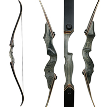 Hunting Bow Recurve Bow for Left/Right-handed Wooden Take-down Bow Adult Outdoor Shooting Target Practice Bow