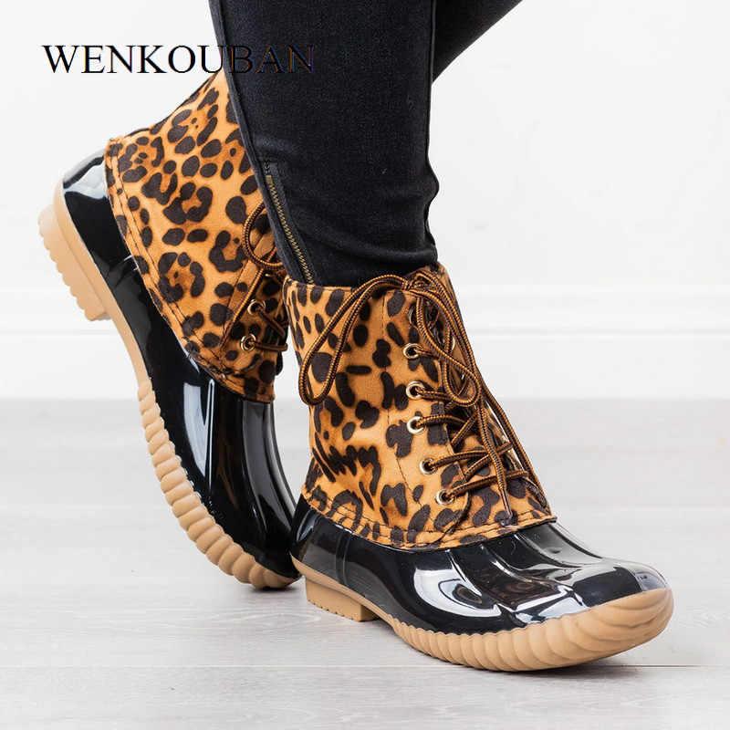 Yarım çizmeler kadın botları için kadın kış ayakkabı patik Bling pullu kadın PVC su ayakkabısı moda yağmur Botines Mujer 2020