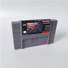 Super castlevania iv 4 cartão de jogo de ação eua versão inglês