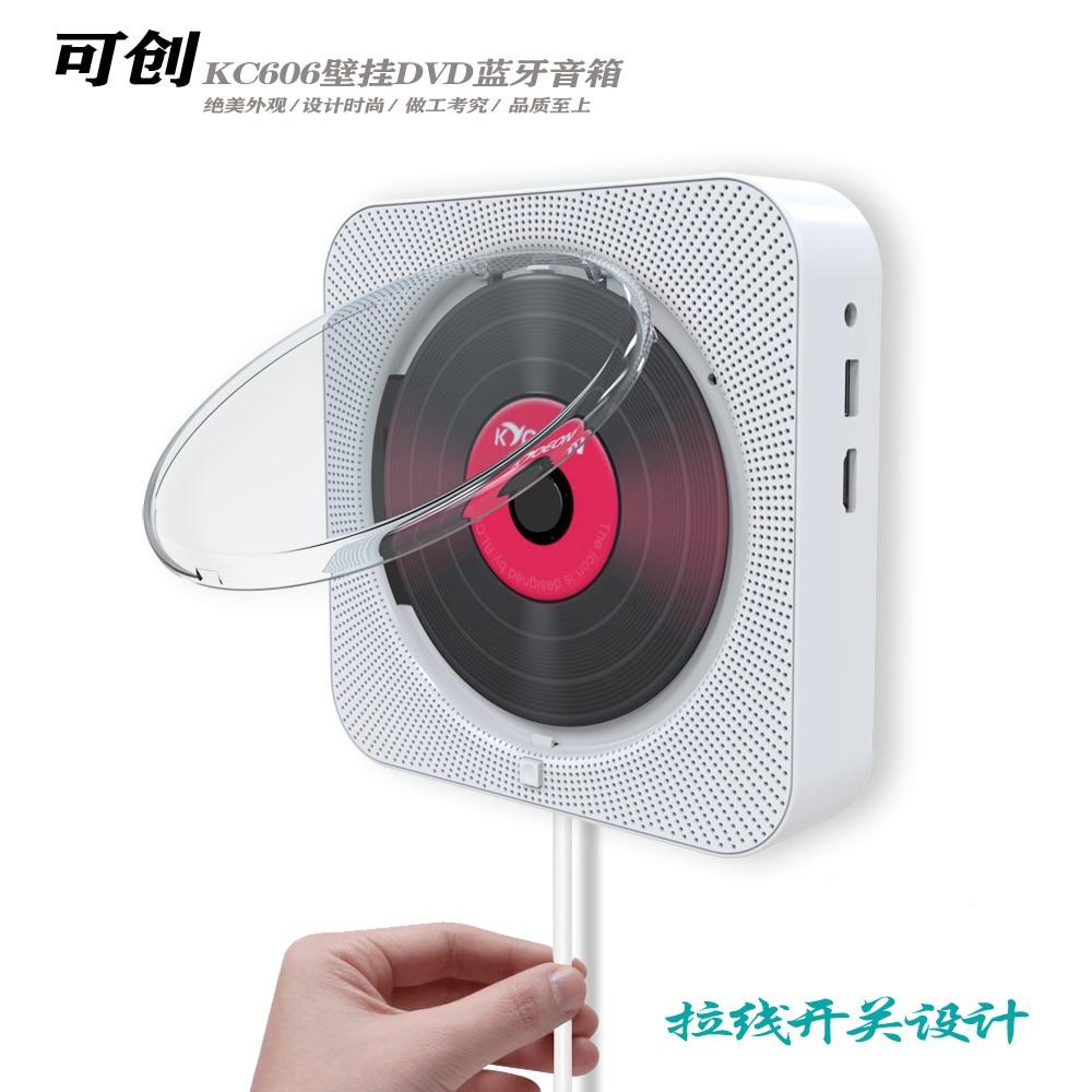 Lecteur DVD lecteur CD mural haut parleur Bluetooth machine d'apprentissage fœtal lecteur CD avec récepteur portable lecteur dvd cadeaux - 2