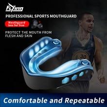 1 pçs protetor de dente boxe protetor bucal cinta boxing protetor de dente esportes cinta ortodontic aparelho treinador