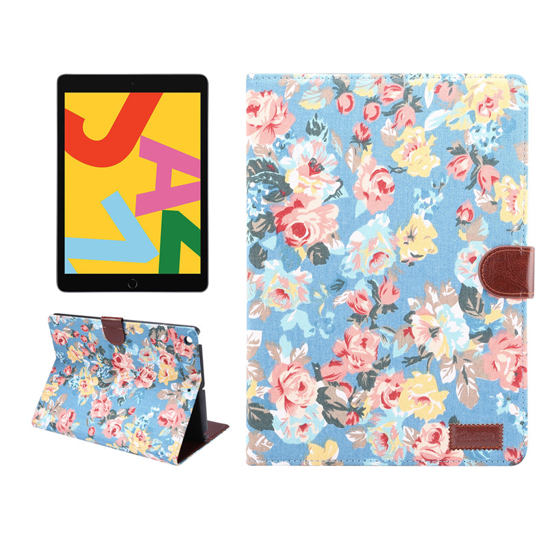 Funda Case Flowers Generation 10.2 Cover iPad For Apple Skin A2198 Shell For iPad A2200 2019 7th Stand Painted Smart A2232