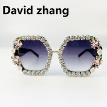 1128 Sunglasses Men and Women Personality Trend exaggerated metalRETRO SUNGLASSES street shooting net red live props