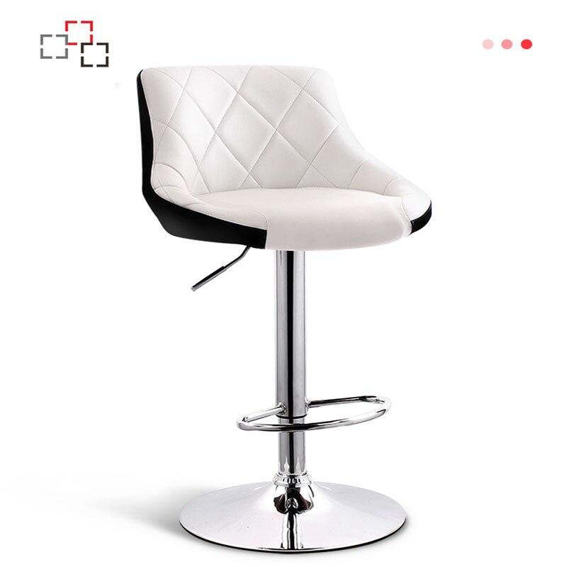 Chaise de Bar de ménage levage tabouret haut chaise de Bar haut dossier tabouret de Bar simplicité moderne chaise haute Table de Bar et chaises