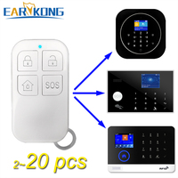 433MHz Wireless Remote Controller Big Button For G4 / PG 103 / W2B / W123 / G30 Wifi Alarm System Home Burglar Alarm System|Alarm Remote Controller|Security & Protection -