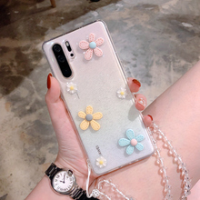 Personalized Transparent Flower Phone Cases For HUAWEI P30 P40 Pro P20 Soft Silicone Phone Cover For HUAWEI Mate 20 30 Pro plating tpu phone case for huawei p20 pro p30 pro p40 gloryv20pr pro soft silicone upscale phone cases mobile phone accessories