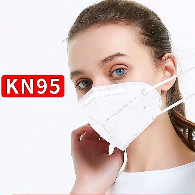 N95 PM2.5mask KN95 flu fog dust mask fine filter wholesale flavor pollen protective KN95 mask