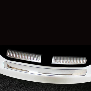 Lsrtw2017 for Skoda Rapid Car Trunk Sill Threshold Trims Interior Accessories 2012 2013 2014 2015 2016 2017 2018 2019 2020