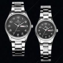 Top Brand Luxury Lover Watch Pair Waterproof Men Women Coupl