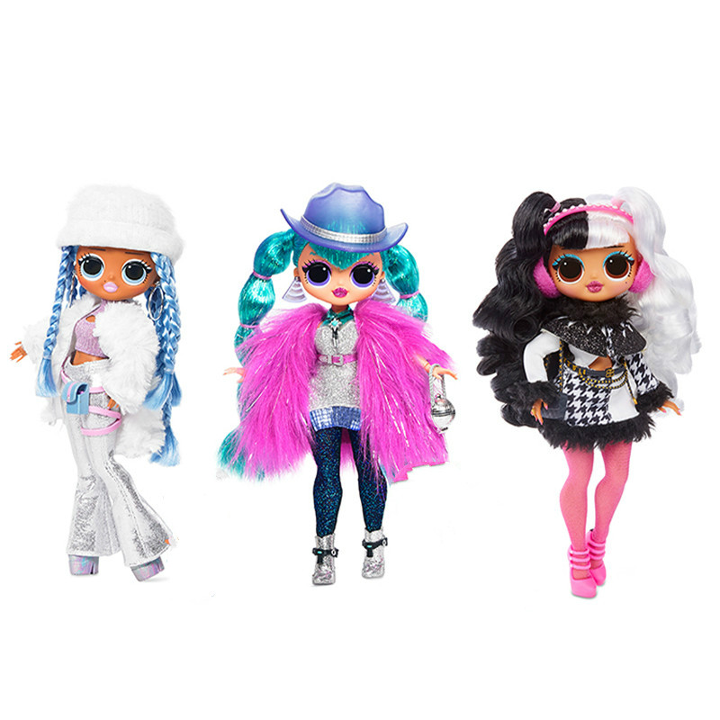 L.O.L. Surprise Lol Surprises OMG Swag Winter Disco Toys Hobbies Accessories For Girlfriend Children Kids Christmas Gifts Dolls