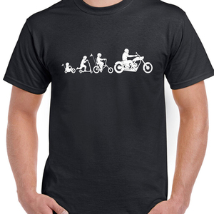 Two Wheel Evolution Mens Funny