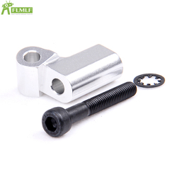 Alloy CNC Engine Fitted Block Fit for 1/5 HPI ROFUN BAHA ROVAN KM BAJA 5B Rc Car Toys Games Parts