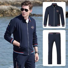 NEW Men Tracksuit Top Quality Sport wear Sets Men Jogging Suit 2pieces loos Keep Basball Fashion Casual Style Jumping runing big
