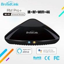 Broadlink RM PRO Универсальный Интеллектуальный пульт дистанционного управления, автоматизация умного дома, Wi Fi, ИК, РЧ переключатель для телефонов IOS, Android