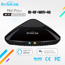 Thông Minh Broadlink RM Pro + Đa Năng Thông Minh Điều Khiển Từ Xa Máy Lau Nhà Tự Động Thông Minh Wifi + IR + RF Dành Cho IOS Android điện Thoại