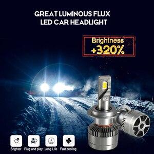 Image 4 - CNSUNNYLIGHT 70 w/para LED H7 H11 H8 reflektor samochodowy 9005 9006 H4 Hi/Lo bi led żarówki H1 500% jaśniejsze Auto samochody światła 6000K